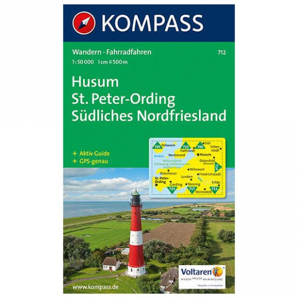 Kompass - Husum /St. Peter-Ording - Hiking Maps