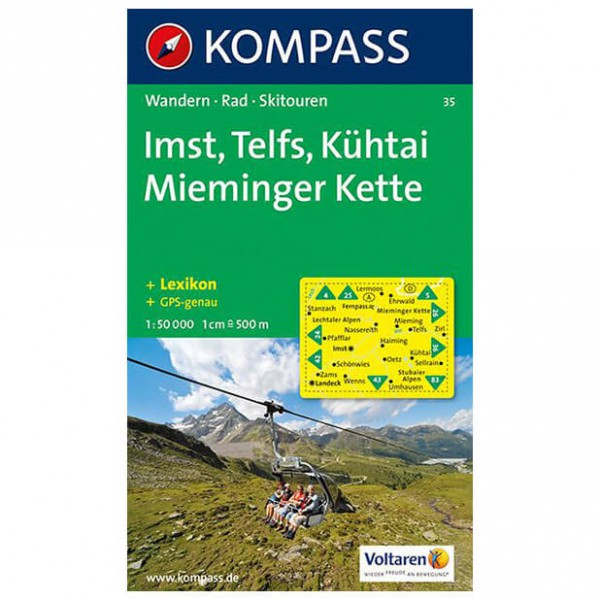 Kompass - Imst - Wandelkaarten