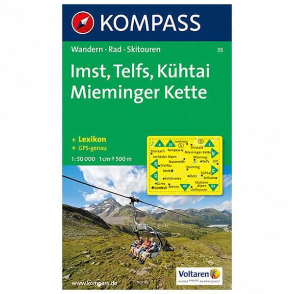 Kompass - Imst - Wanderkarte