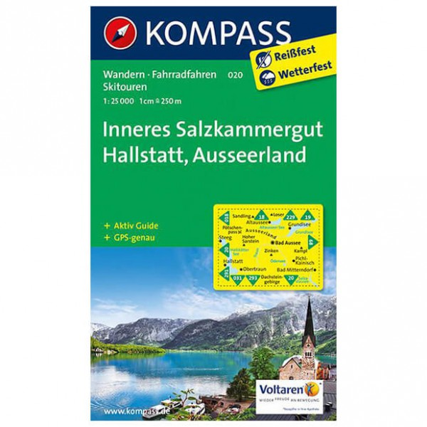 Kompass - Inneres Salzkammergut - Hiking Maps