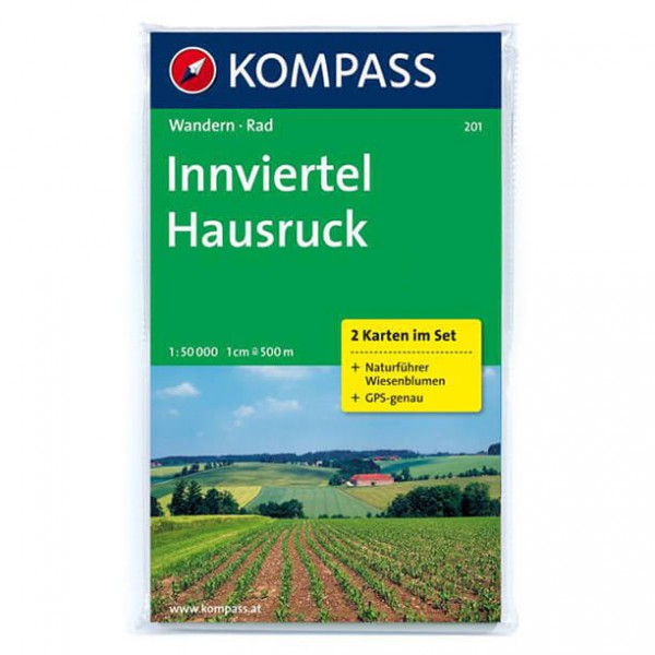 Kompass - Innviertel - Hiking map