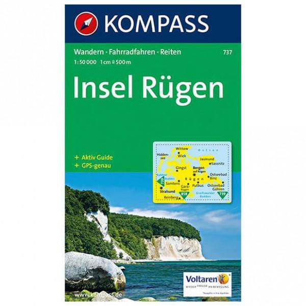 Kompass - Insel Rügen - Vaelluskartat