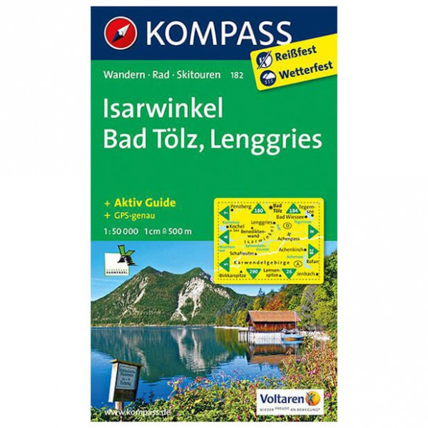 Kompass - Isarwinkel - Hiking Maps