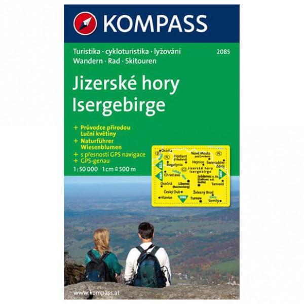 Kompass - Isergebirge/Jizerske hory - Wandelkaarten