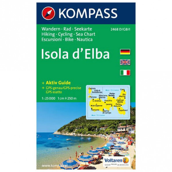 Kompass - Isola d' Elba - Hiking Maps