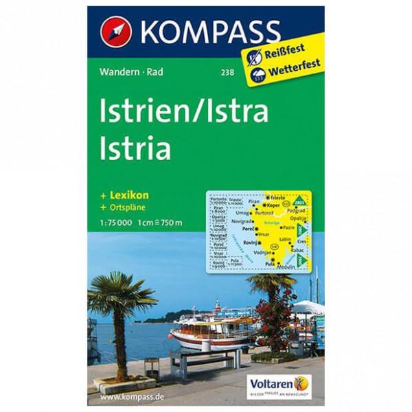 Kompass - Istrien / Istra / Istria - Hiking Maps