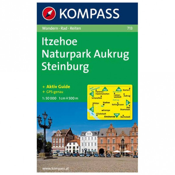 Kompass - Itzehoe - Wandelkaarten