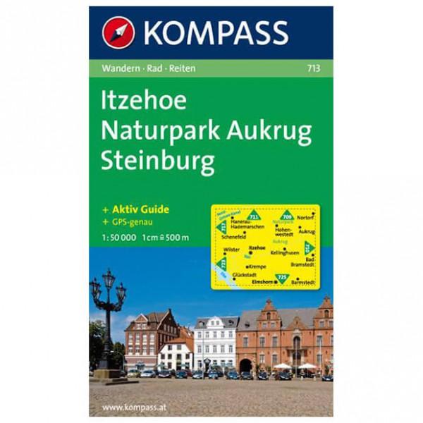 Kompass - Itzehoe - Wanderkarte