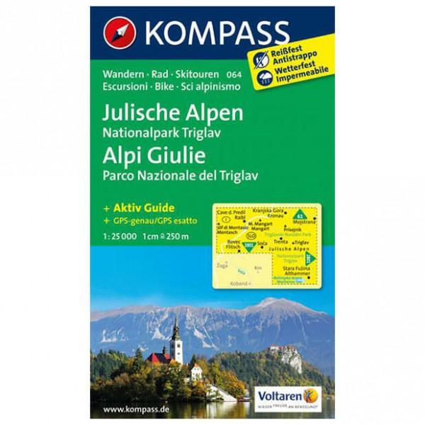 Kompass - Julische Alpen - Hiking map
