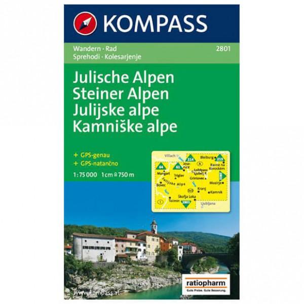 Kompass - Julische Alpen/Julijske alpe - Cartes de randonnée