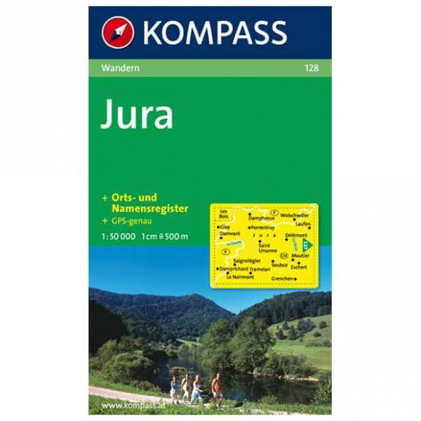 Kompass - Jura - Wandelkaarten