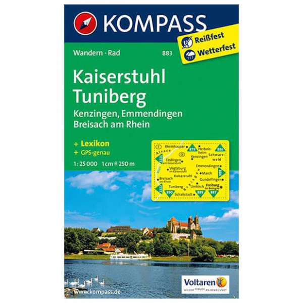 Kompass - Kaiserstuhl - Vandringskartor
