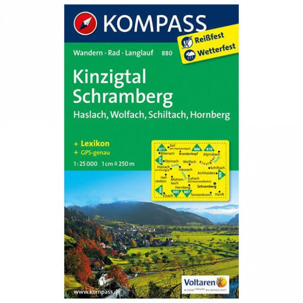 Kompass - Kinzigtal - Wandelkaarten