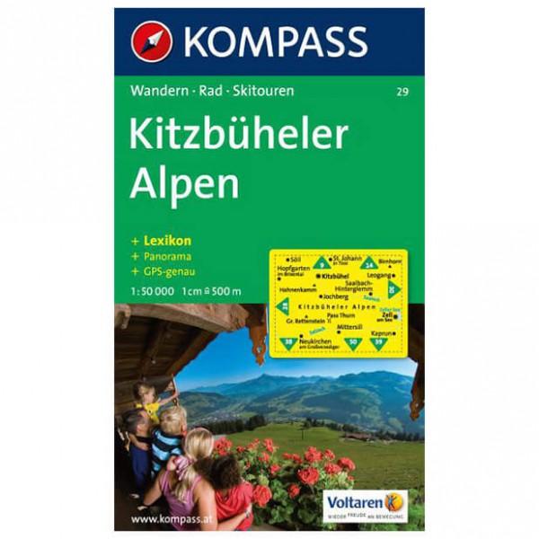 Kompass - Kitzbüheler Alpen - Vaelluskartat