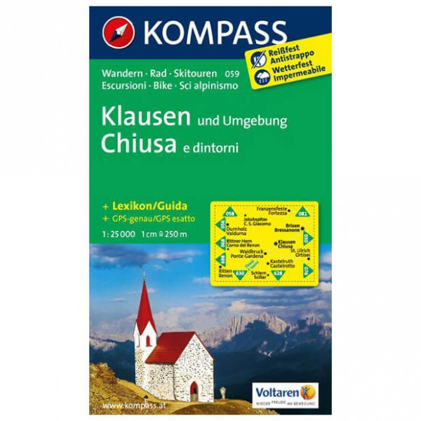 Kompass - Klausen und Umgebung - Hiking Maps