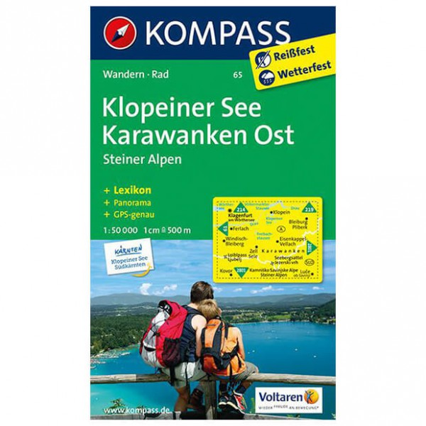 Kompass - Klopeiner See - Hiking Maps