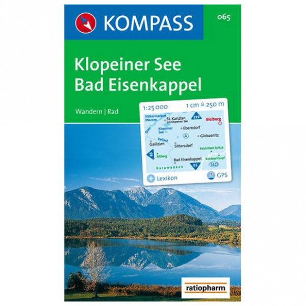 Kompass - Klopeiner See-Bad Eisenkappel - Hiking Maps