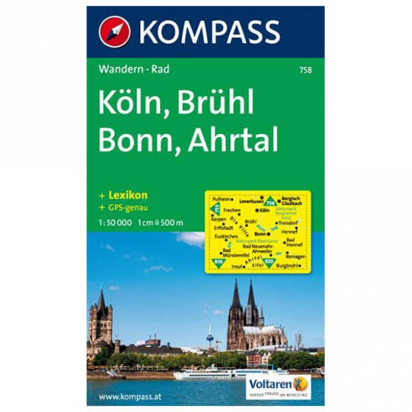 Kompass - Köln - Hiking map