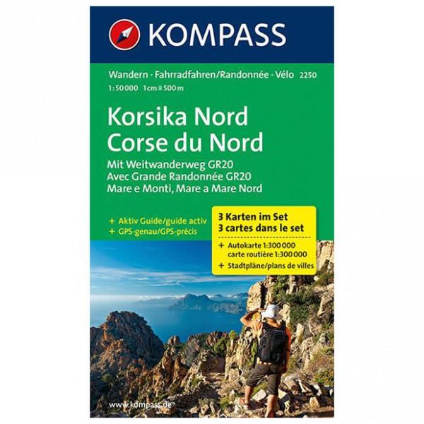 Kompass - Korsika Nord - Cartes de randonnée