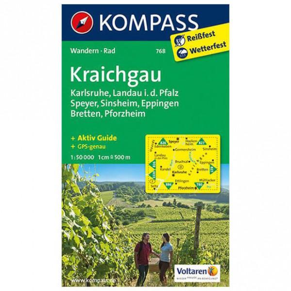 Kompass - Kraichgau, Karlsruhe, Landau i. d. Pfalz, Speyer