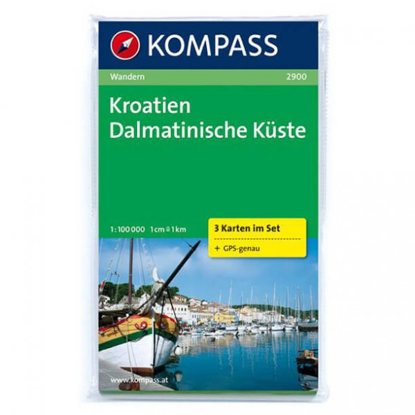 Kompass - Kroatien - Hiking Maps
