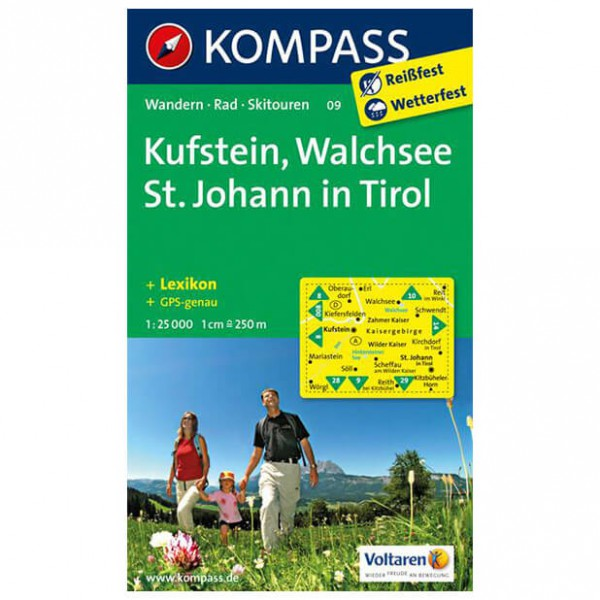 Kompass - Kufstein - Wanderkarte