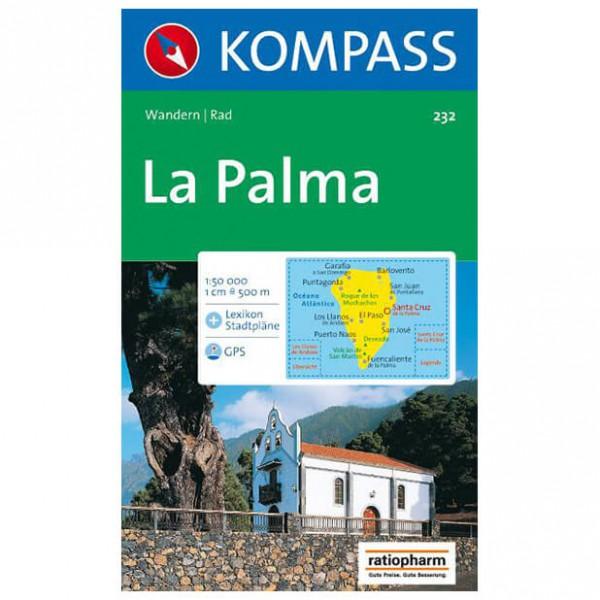 Kompass - La Palma - Cartes de randonnée