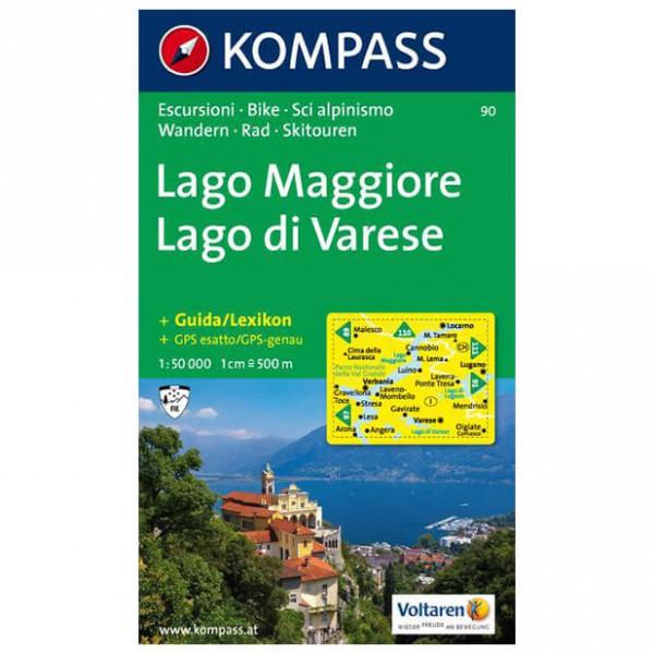 Kompass - Lago Maggiore /Lago di Varese - Hiking Maps