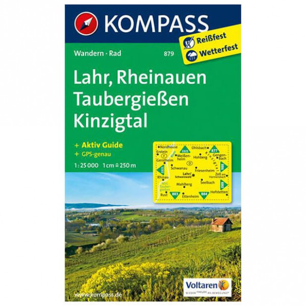 Kompass - Lahr - Hiking map
