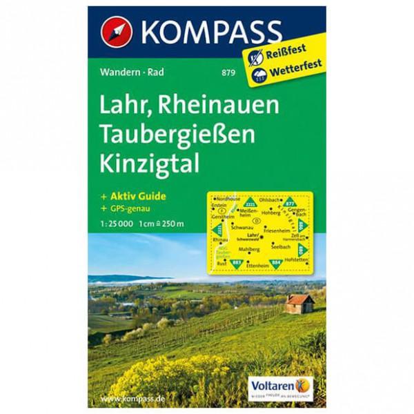 Kompass - Lahr - Wanderkarte