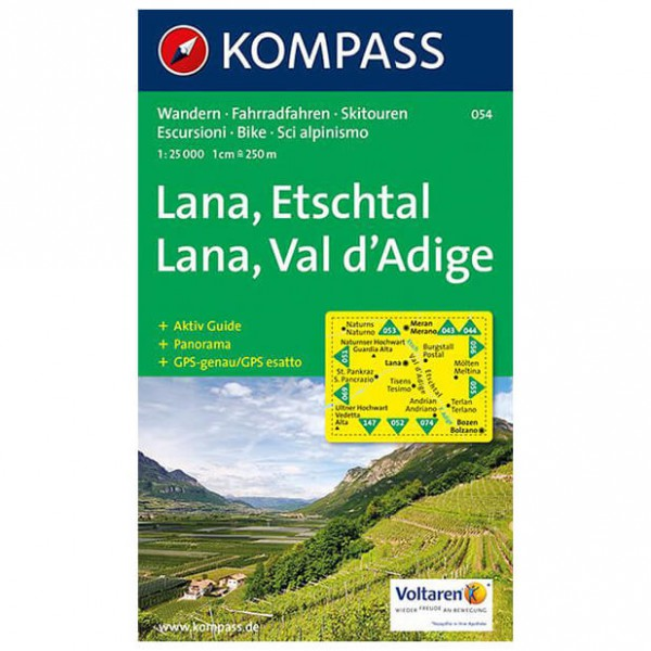Kompass - Lana - Hiking Maps