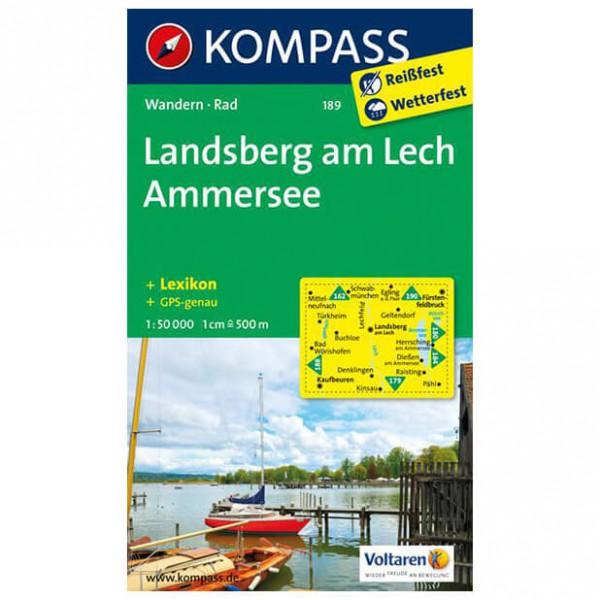 Kompass - Landsberg am Lech - Wandelkaart