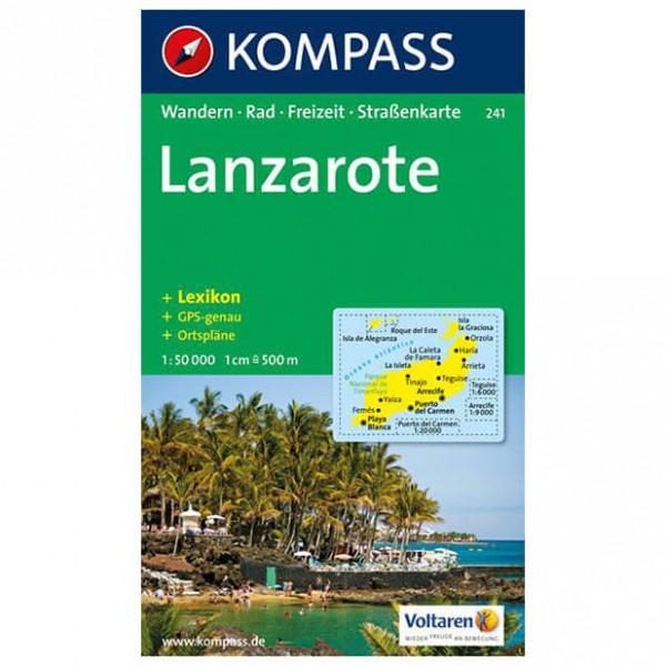 Kompass - Lanzarote - Cartes de randonnée