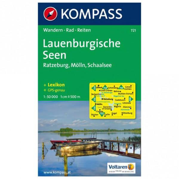 Kompass - Lauenburgische Seen - Wandelkaarten