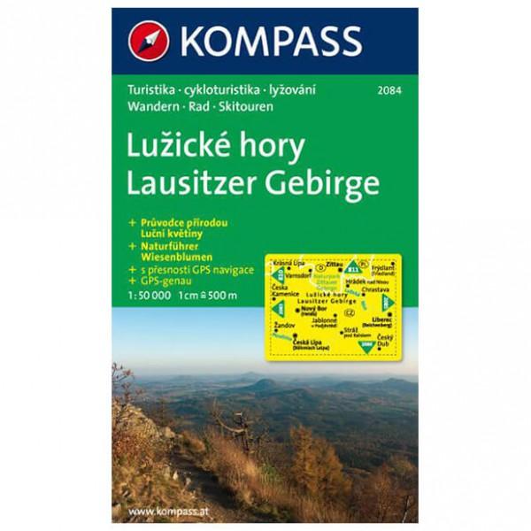 Kompass - Lausitzer Gebirge/LuZicke hory - Vandrekort