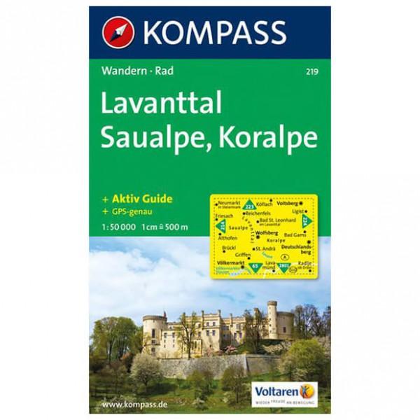 Kompass - Lavanttal - Hiking map