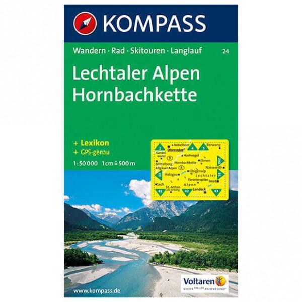Kompass - Lechtaler Alpen - Wanderkarte