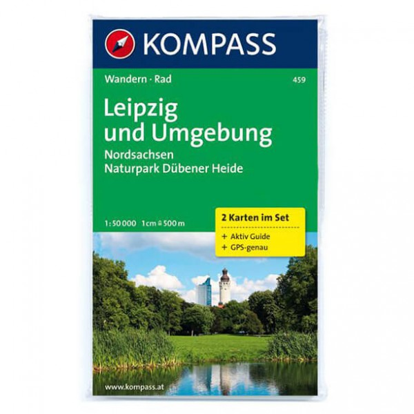 Kompass - Leipzig und Umgebung - Wandelkaarten