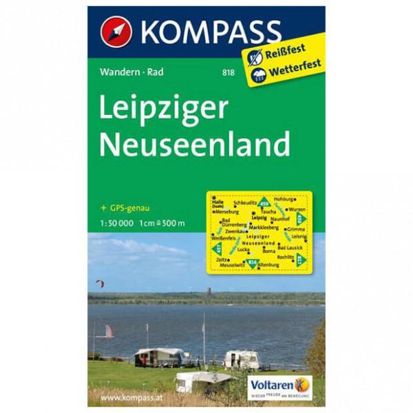 Kompass - Leipziger Neuseenland - Hiking Maps