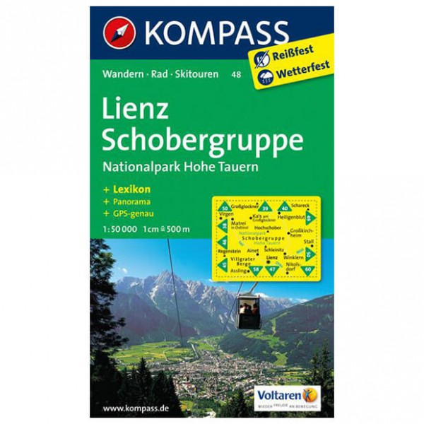 Kompass - Lienz - Hiking Maps