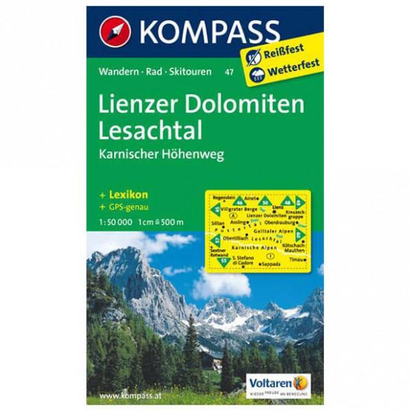 Kompass - Lienzer Dolomiten - Vaelluskartat