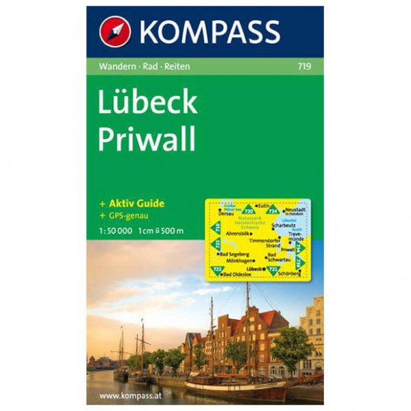 Kompass - Lübeck - Wanderkarte