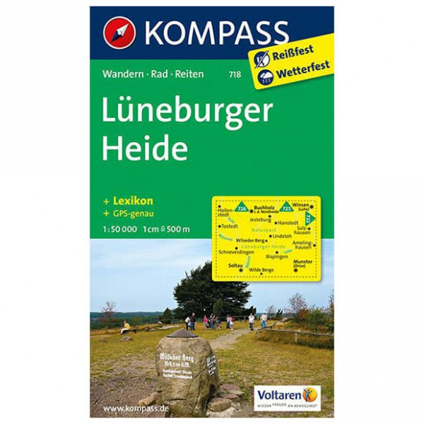 Kompass - Lüneburger Heide - Vaelluskartat