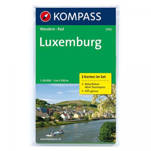Kompass - Luxemburg - Vaelluskartat