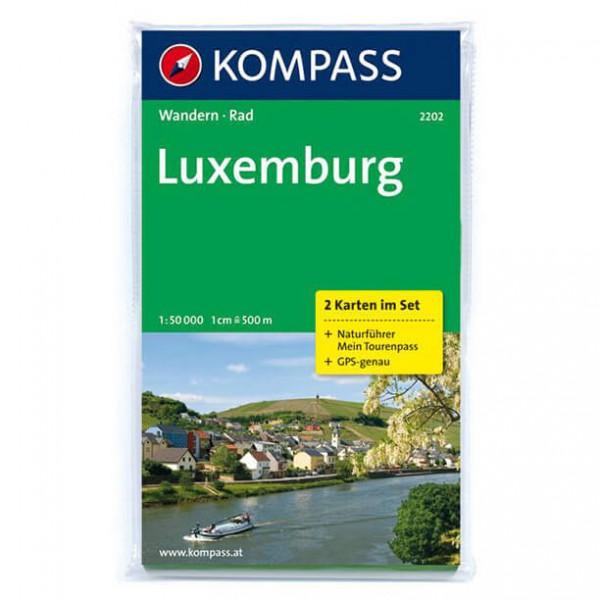 Kompass - Luxemburg - Wanderkarte