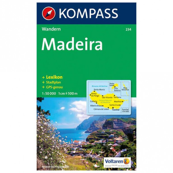 Kompass - Madeira - Vaelluskartat
