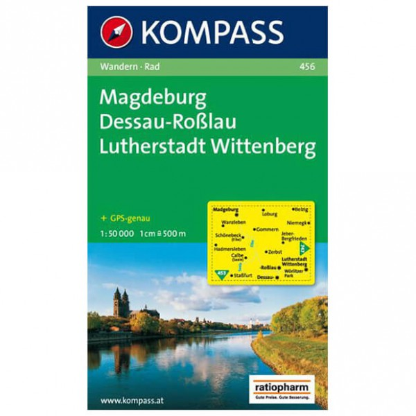 Kompass - Magdeburg - Wandelkaarten