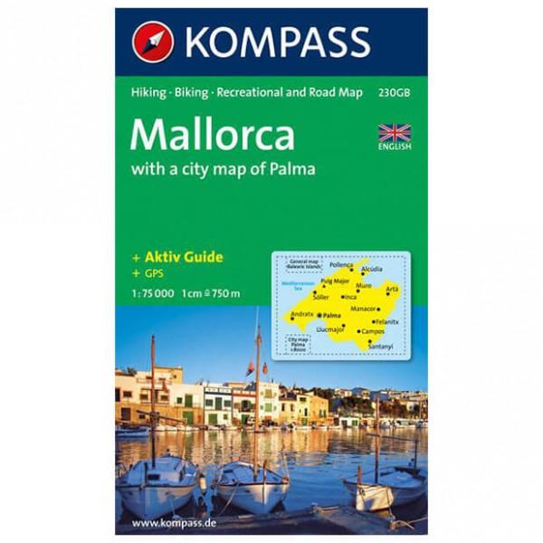 Kompass - Mallorca - Wanderkarte 230GB