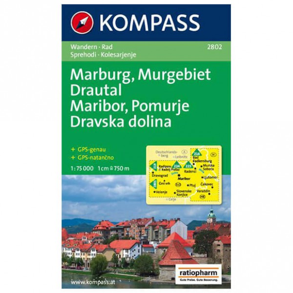 Kompass - Marburg/Maribor - Hiking Maps