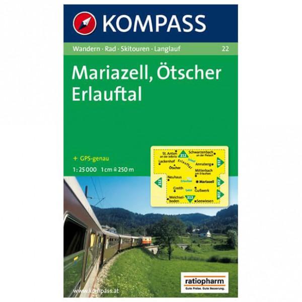 Kompass - Mariazell - Cartes de randonnée